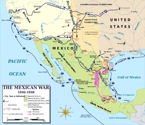 Mexican American War.