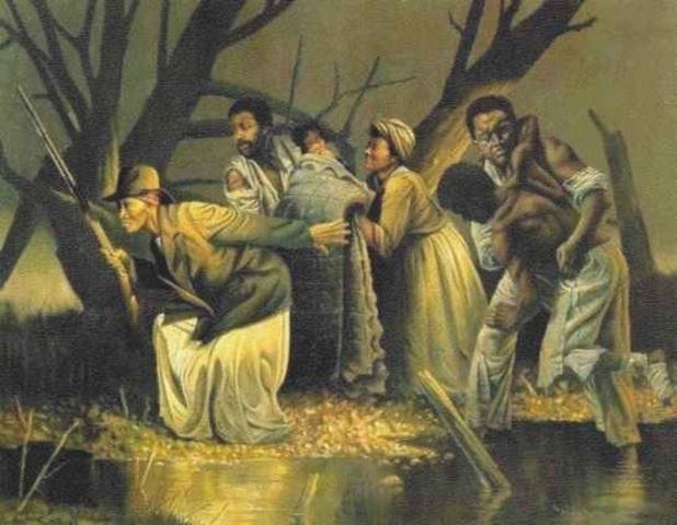 Hariet Tubman and the underground railroad