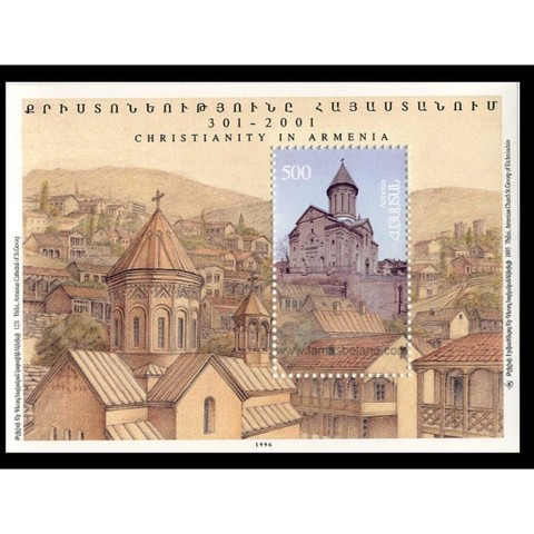 Armenia adopta el cristianismo como religión oficial.