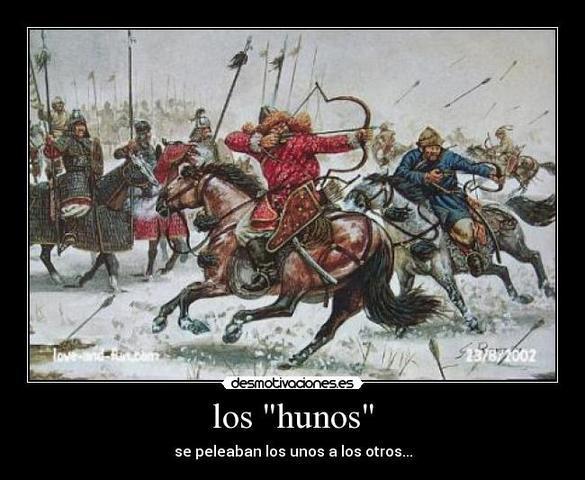 Los hunos invaden el Imperio sasánida