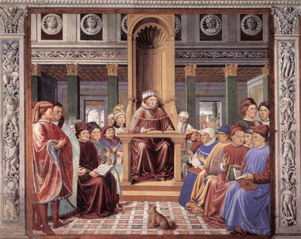 San Agustin en la secta de los Maniqueos