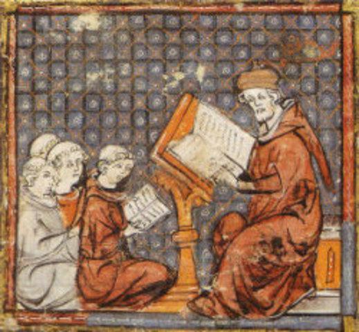 Siglo VI Escuelas Medievales