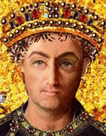 Justiniano I sucede a Justino I como emperador del Imperio bizantino.