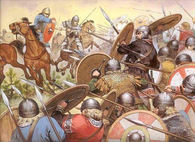 La invasión Lombarda 535-568