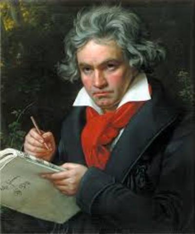 Ludwig Van Beethoven is born