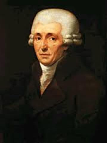 Franz Joseph Haydn dies