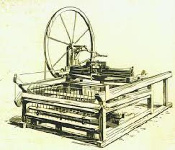 The Spinning Jenny is Invented