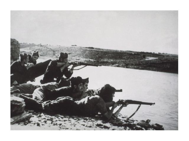 Inici Batalla de l'Ebre (Antonia Cantacorps)