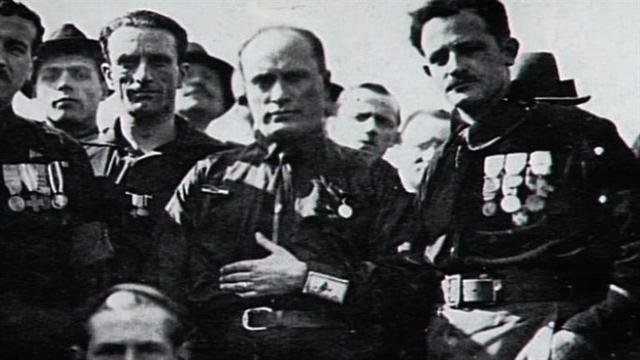 Mussolini takes over Italys Government