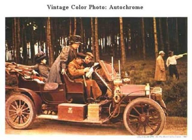 """Placa fotográfica """" Autochrome"""" en el mercado"""