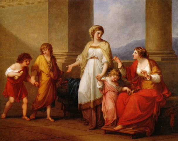 Cornelia Presenting Her Children as Her Treasures, or Mother of the Gracchi