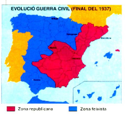 Ocupació Gijón pels nacionals (Judit Huguet)