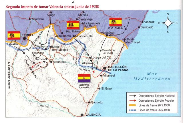 Ocupació de Castellò pels Nacionals ( Carla Castellà)