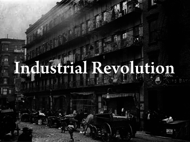 Industrial Revolution (No Specific Date)