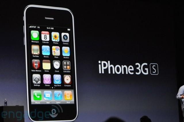 Lanzamiento de iPhone 3GS