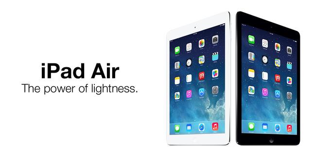 Lanzamiento iPad Air