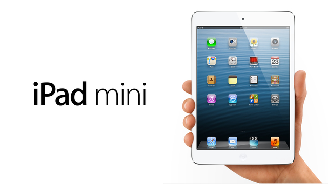 Lanzamiento iPad Mini