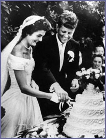 Marriage to John Kennedy