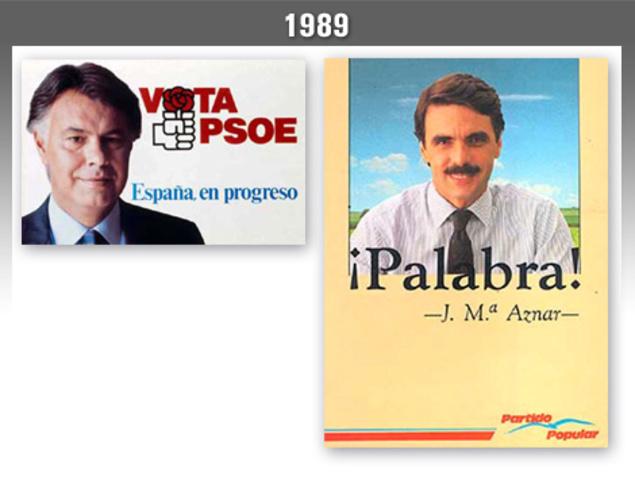 Tercera victoria electoral del PSOE