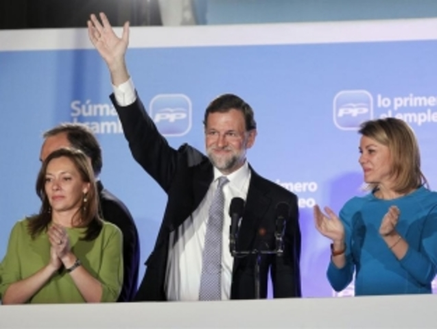 Mariano Rajoy llega al poder