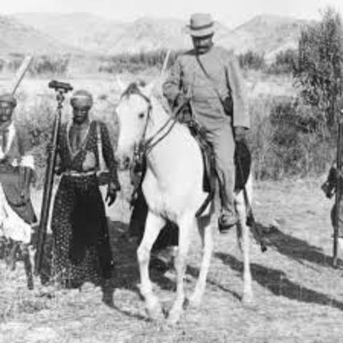 Busqueda de petroleo en Persia