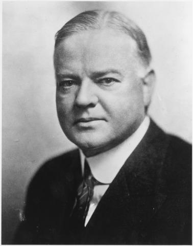 Herbert Hoover Reassures