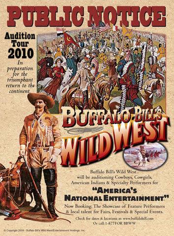"Bill Cody's ""Wild West Show"""