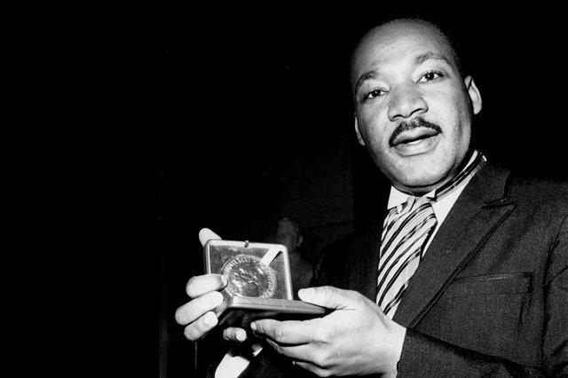 MLK Wins Nobel Peace Prze