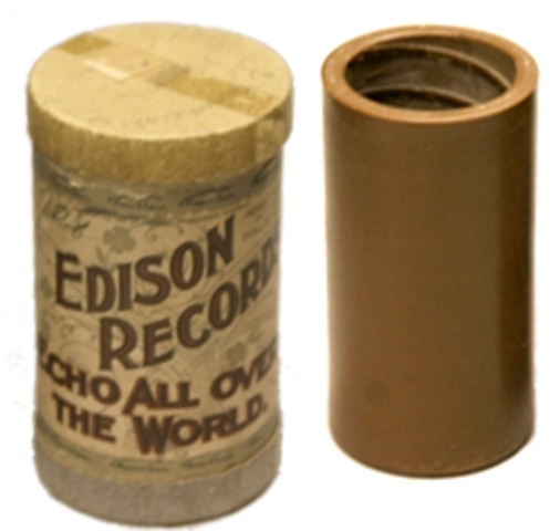 The Edison Phonograph created and sold to the public