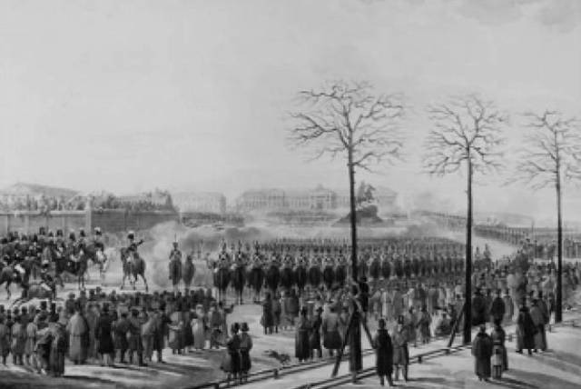 Востание декабристов в Санкт-Петербурге