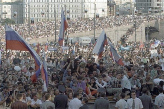 Провозглашение суверенитета РСФСР
