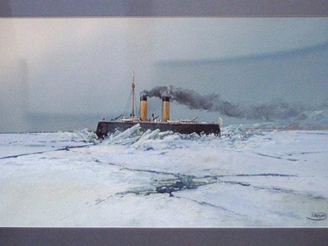 Второе плаваие в полярных льдах.