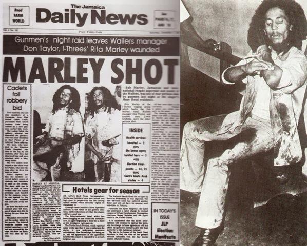 Assassination Attempt on Bob Marley