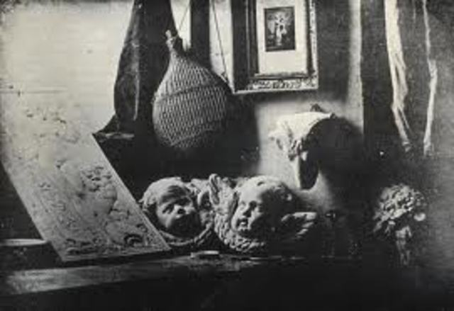 Niepce & Louis Daguerre