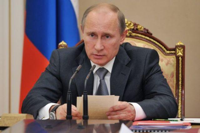 Избрание В. В. Путина президентом России