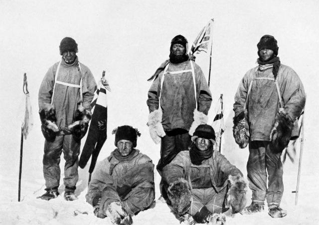 Robert.F Scott reaches the South Pole