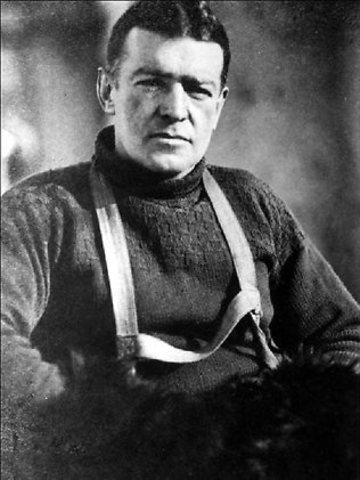 Death of Ernest shackleton