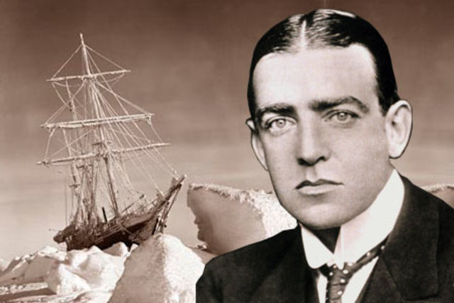 Ernest Shackleton returned to Antarctica to complete the first crossing of the continent.