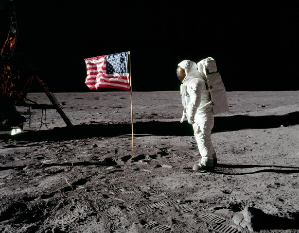 First Landing on the Moon