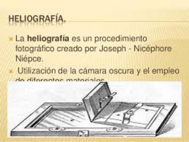 La heliografía
