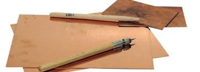 Técnica de plancha seca