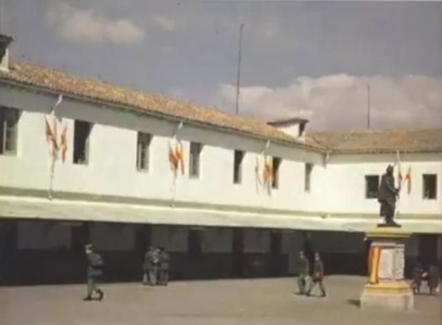 """Construcción del Colegio de Guardias Jóvenes """"Duque de Ahumada"""""""