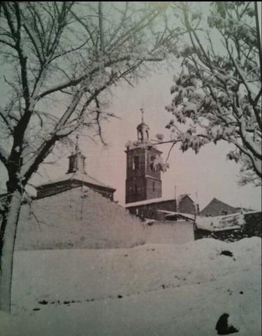 Gran nevada en Valdemoro