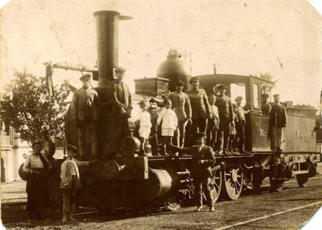 Inauguración de la línea férrea entre Madrid y Aranjuez con parada en Valdemoro
