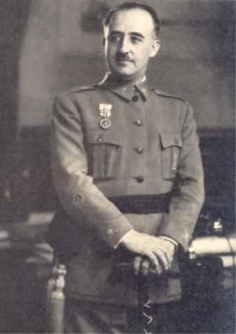 Francisco Franco se traslada a Valdemoro