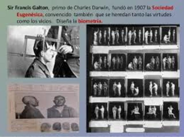 Francis Galton (1822-1911) acuñó el término «eugenesia»