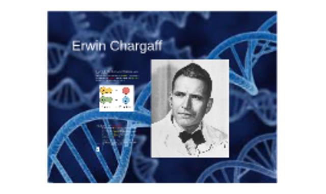 Erwin Chargaff.