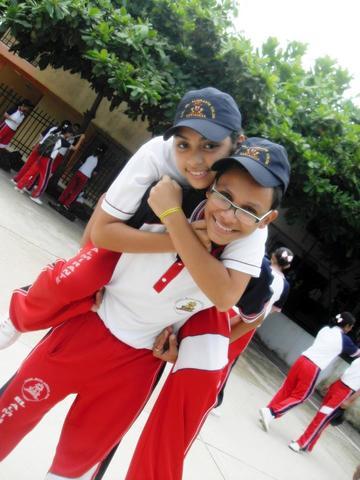 Abdel y su bffa