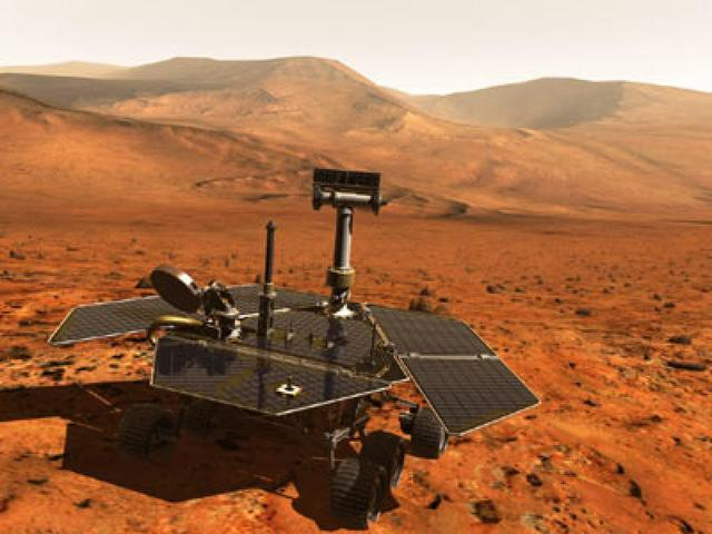 Rover from the U.S landed on mars