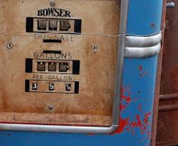 1st Gas Pump - Natalie